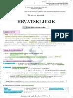 Skripta za maturu - Hrvatski
