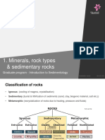 1 Minerals Rock Types Classificationsedrocks Carbonates August 2015