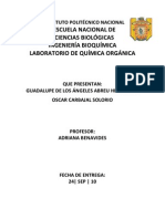 Cromatografía - Reporte