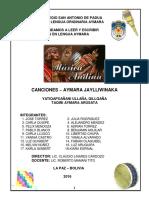 Cancionero Aymara Final