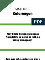 Aralin 6- Grade 9