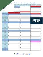 1- Calendario  2018_2019 1º pe´riodo