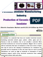 Porcelain Insulator Manufacturing Industry