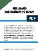Sinaunang Kabihasnan Ng Japan Grade 7