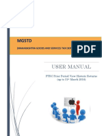 User Manual_PTRC_View Historic Return_up to 31st March 2016