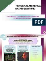Bab 1 Pengenalan Kepada Penyiasatan Saintifik (2)