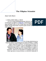 The Filipino Scientist