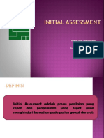 Ppt Initial Assessment