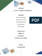 Borrador Entrega Trabajo Colaborativo-Unidad 2 Paso 3 - Análisis de La Información