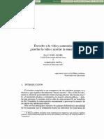 AUSIN. Derecho a la vida y eutanasia.pdf