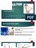 Lapsus Rehab Medik_low Back Pain