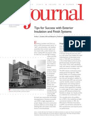 Vol-30-N3-EIFS pdf | Building Technology | Architectural Design