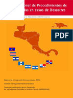 5.17manual Regional de Procedimientos de Procedimientos Es Las Cancillerias en Casos de Desastres