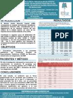 Poster Delineacion Clinica y Molecular de Atrofia Muscular Espinal en Pacientes Pediátricos Del Fundación Hospital de Especialidades Pediátricas de Maracaibo