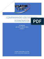 Cuadro comparativo de los sistemas economicos