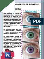 ¿Cómo cambiar color de ojos con Photoshop?