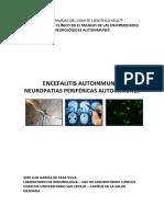 1. Neuropatías Periféricas Autoinmunes. Encefalitis Autoinmunes. José Luis García de Veas Silva