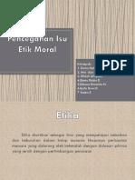 Pencegahan Isu Etik Moral