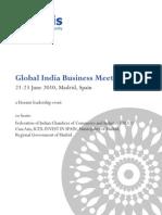 Horasis Global India Business Meeting 2010 - Programme Brochure