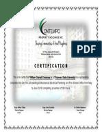 Bill Certificate