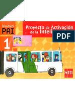 PAI 1 - PROYECTO ACTIVACION DE LA INTELIGENCIA