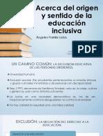 Exposicion EDUCACION INCLUSIVA