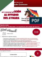 Exposición Introducción a la lengua aymara