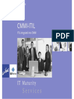 Wibas Team CMMI-ITIL IT Maturity S e r v i c e s