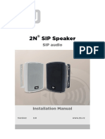 2N SIP Speaker Wall Mounted Manual en 2.8
