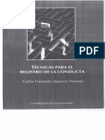 Técnicas para el registro de la conducta. Capítulo I y II.pdf