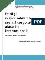 Suport Curs Master - Etica Si CSR_2012