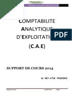 Cours de comptabilité analytique