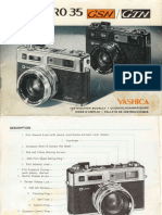 Yashica Electro 35 Gsn manual
