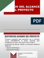 Gestion Del Alcance Del Proyectoooo
