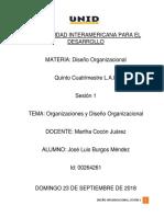 Sesion 1 Diseño Organizacional
