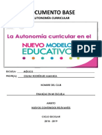 Documento Base Clubs