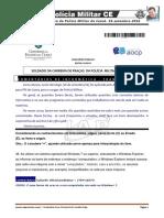 Comentarios Prova PM-CE-Informatica Franklin Felipe