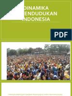 Ppt Dinamika Kependudukan Indonesia