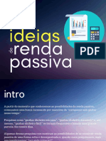 13 Ideias de Renda Passiva
