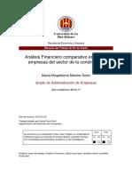 Analisis Vertcial y Horizontal y Verticla de Dos Empresas II