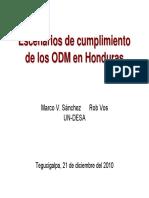Escenarios Tegucigalpa