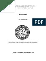 Grupo 6 Auditoría Cunor 2018 Mercado Financiero