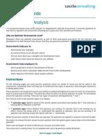 Diagrammatic Analysis