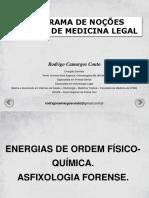 S Traumatologia Energias de Ordem Físico-química
