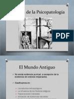2 Historia de La Psicopatología