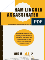 Assasination of Abraham Lincoln