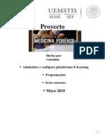 Proyecto (Medicina Forence)