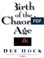 Birth of the Chaordic Age - Dee Hock