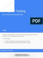 Design for Testing
