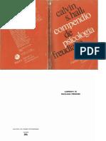 Hall, C. (2012). Compendio de Psicologia Freudiana. Argentina